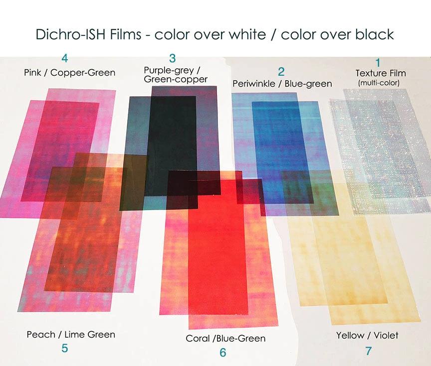 Resin Dichro-ISH dichroic Film Colorant Iridescent
