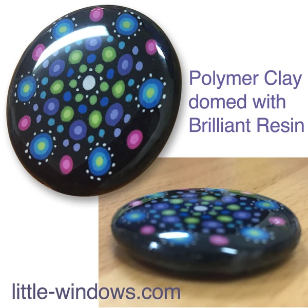 resin jewelry making polymer clay doming