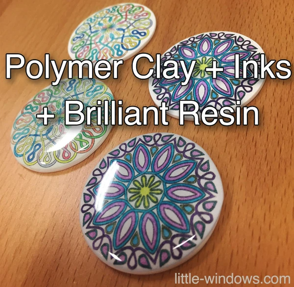 resin doming polymer clay jewelry making inks