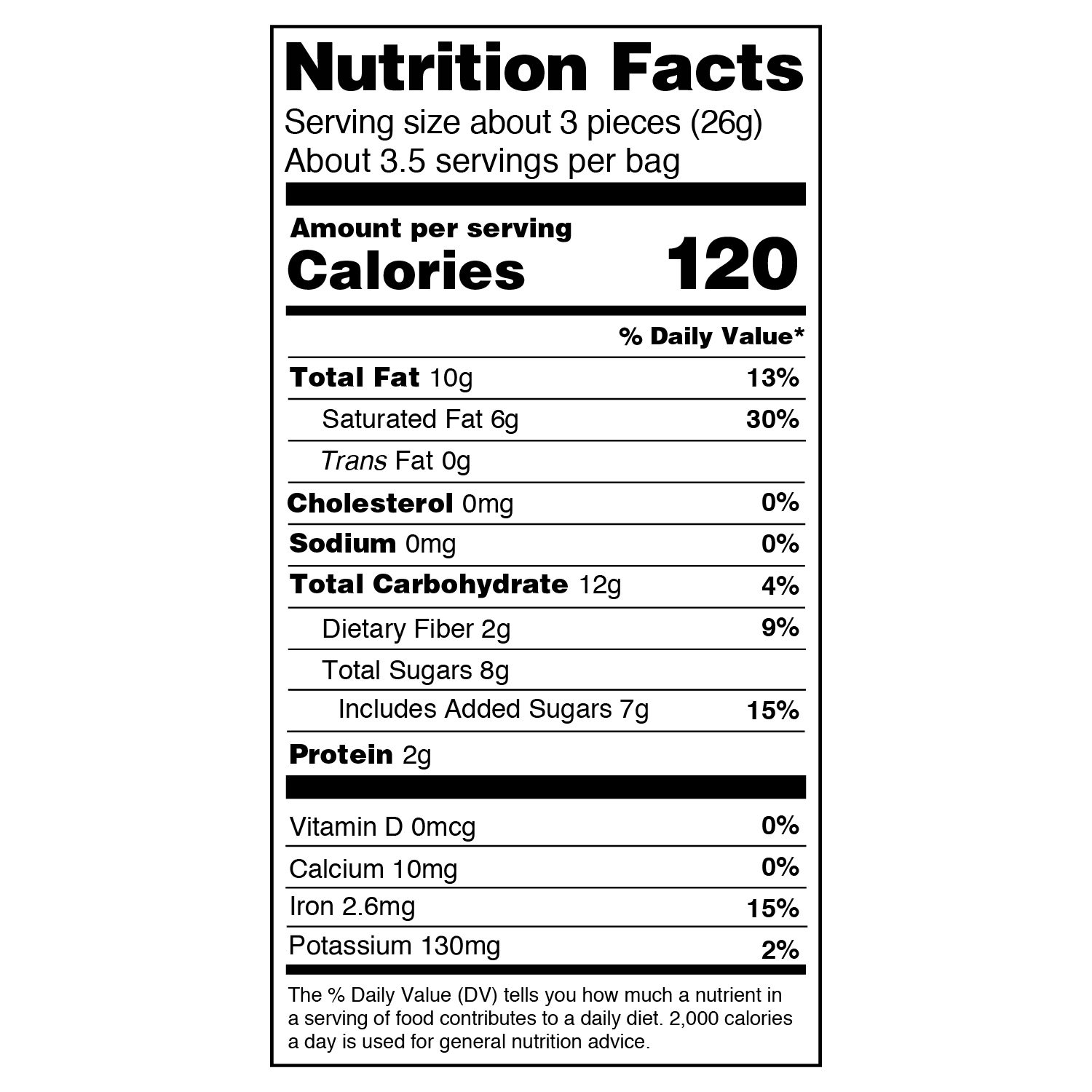 blueberry 18 oz nutritional information