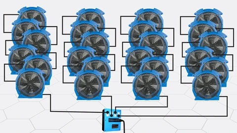 Power Distribution Box Fans