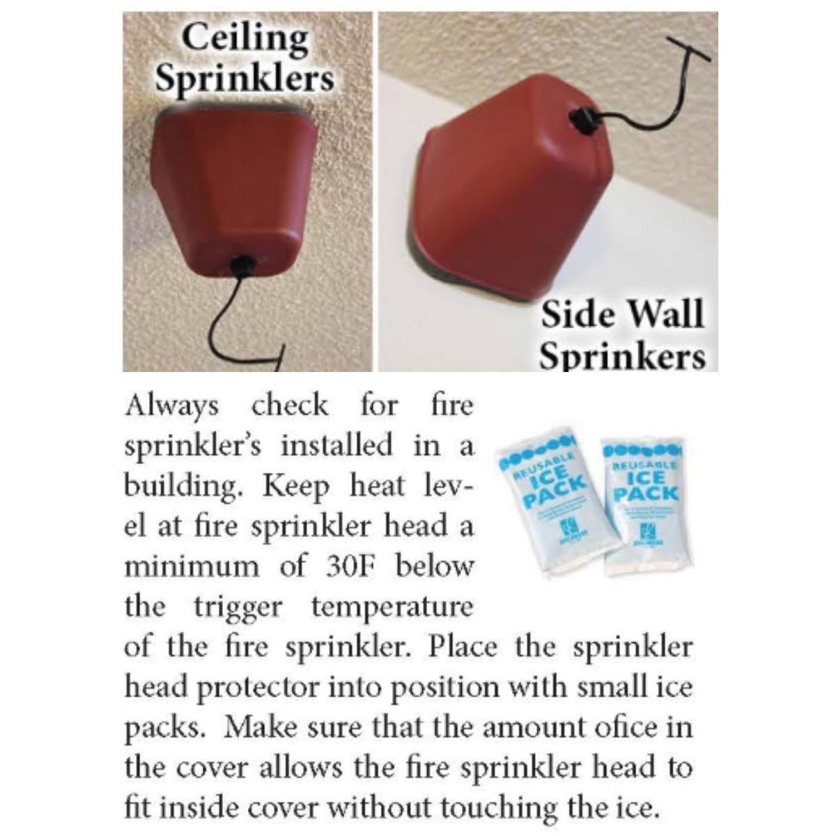 Sprinkler Cover Directions