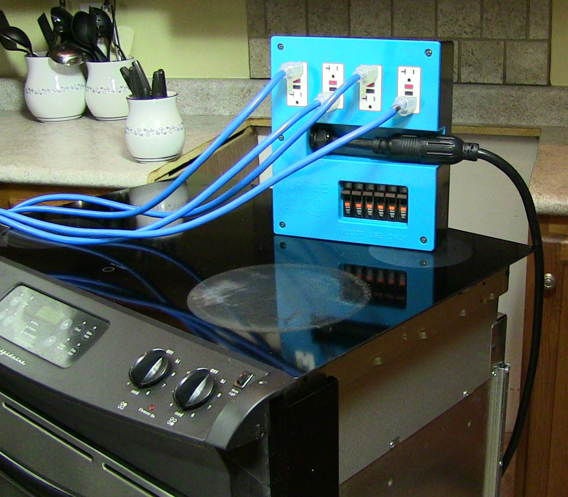 Range Plug in Power Distribution Box