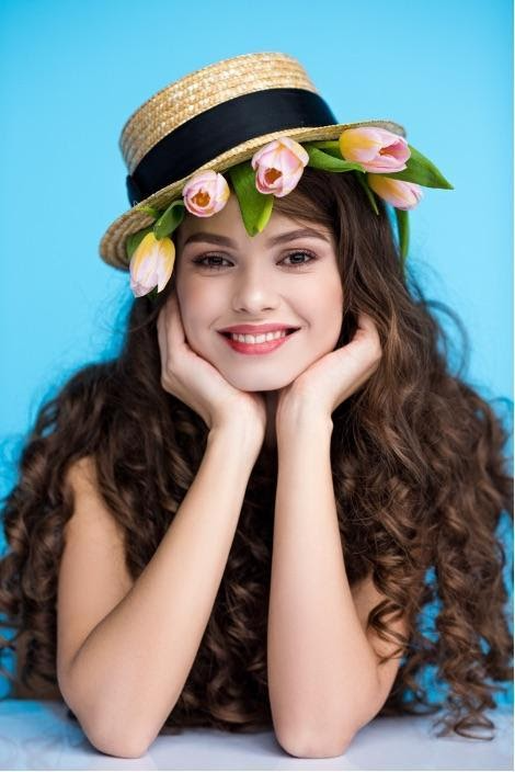 A person wearing a hat  Description automatically generated with medium confidence