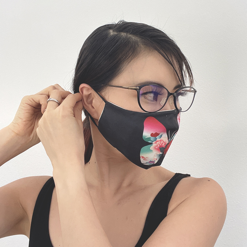 Butterfly Fashion Face Mask