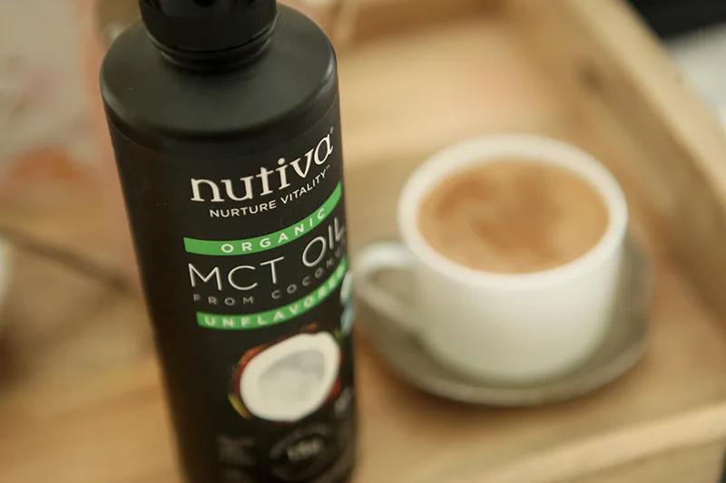 MCT Jasmine Tea kitchen.nutiva.com Nutiva Organic MCT Oil