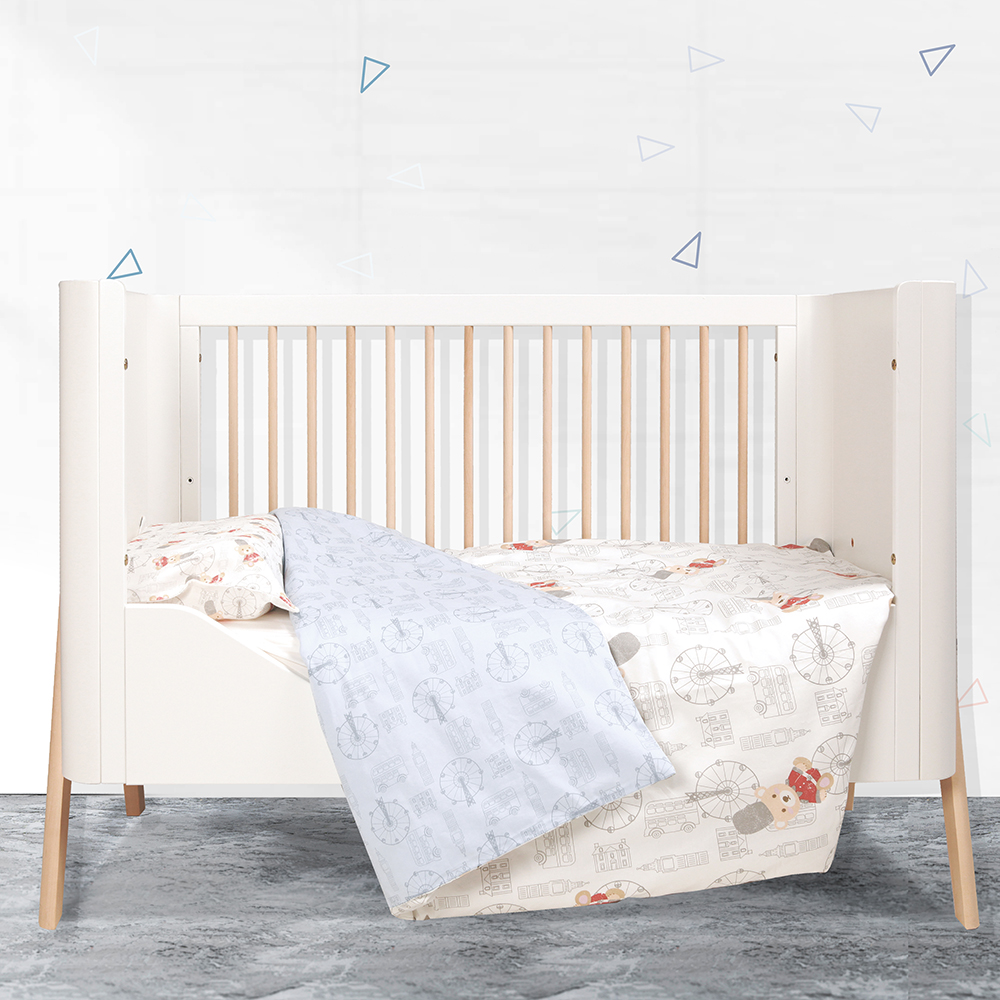 0/3 BABY TORSTEN TODDLER RAIL converts the cot into a toddler bed,toddlers can move in or out from the cot easily.