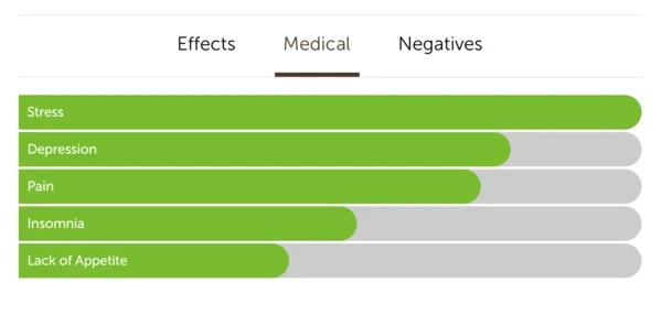gorilla glue hybrid strain medical benefits