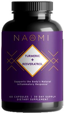 NAOMI Turmeric + Resveratrol