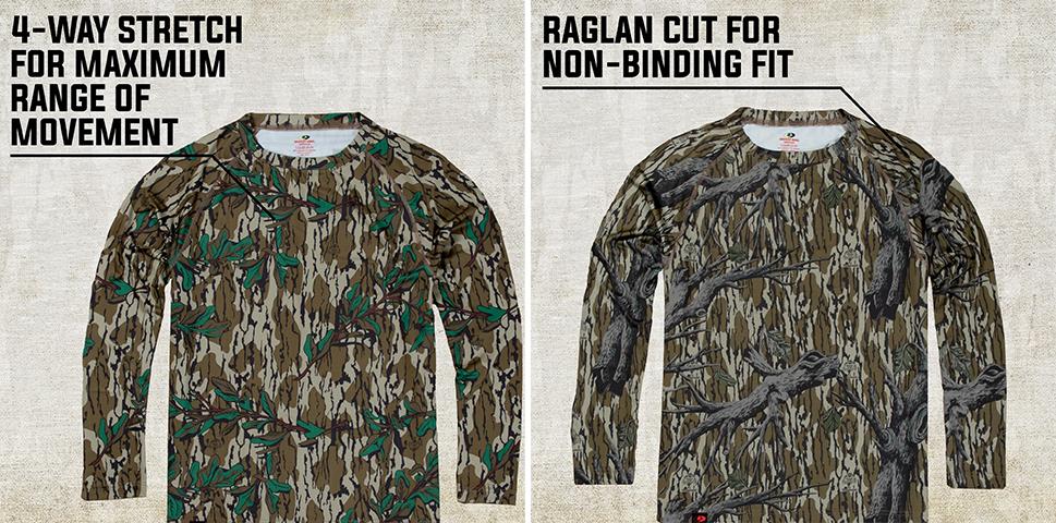 mossy oak long sleeve shirt