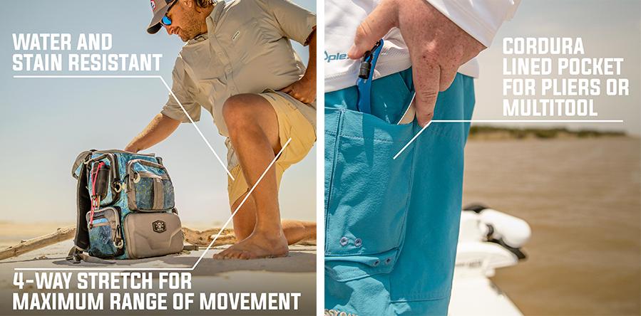 quick dry fishing shorts