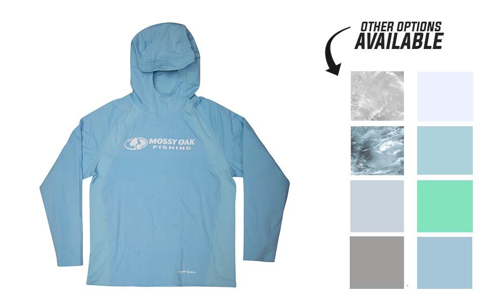 hooded performance fishing shirt