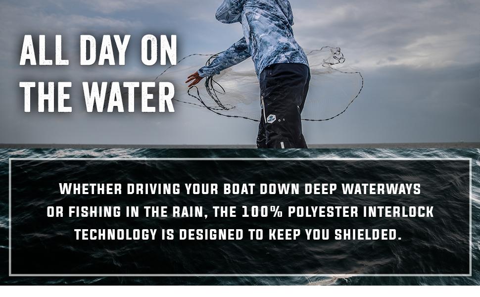 mens waterproof fishing jacket