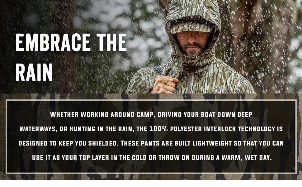 rain gear for hunting