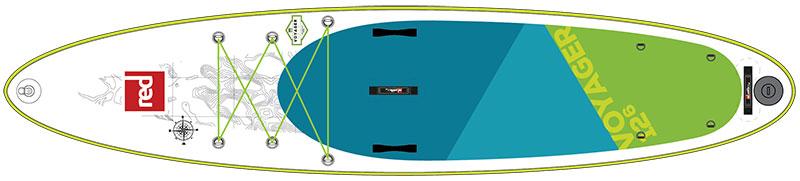 voyager paddle board design