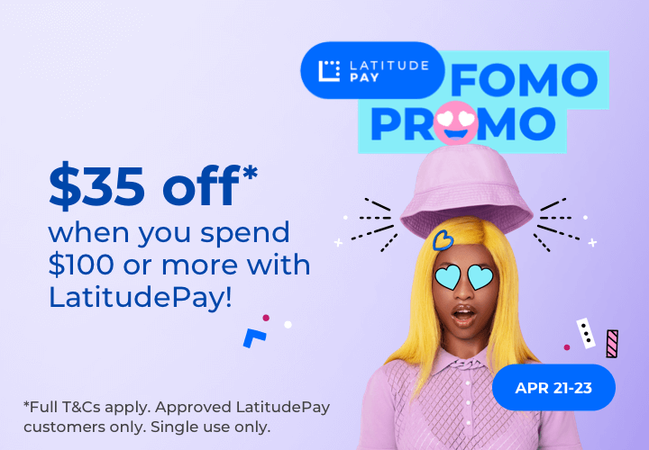 LatitudePay Fomo Promo Graphic