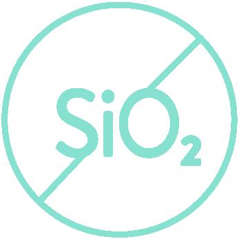 No Silicon Dioxide
