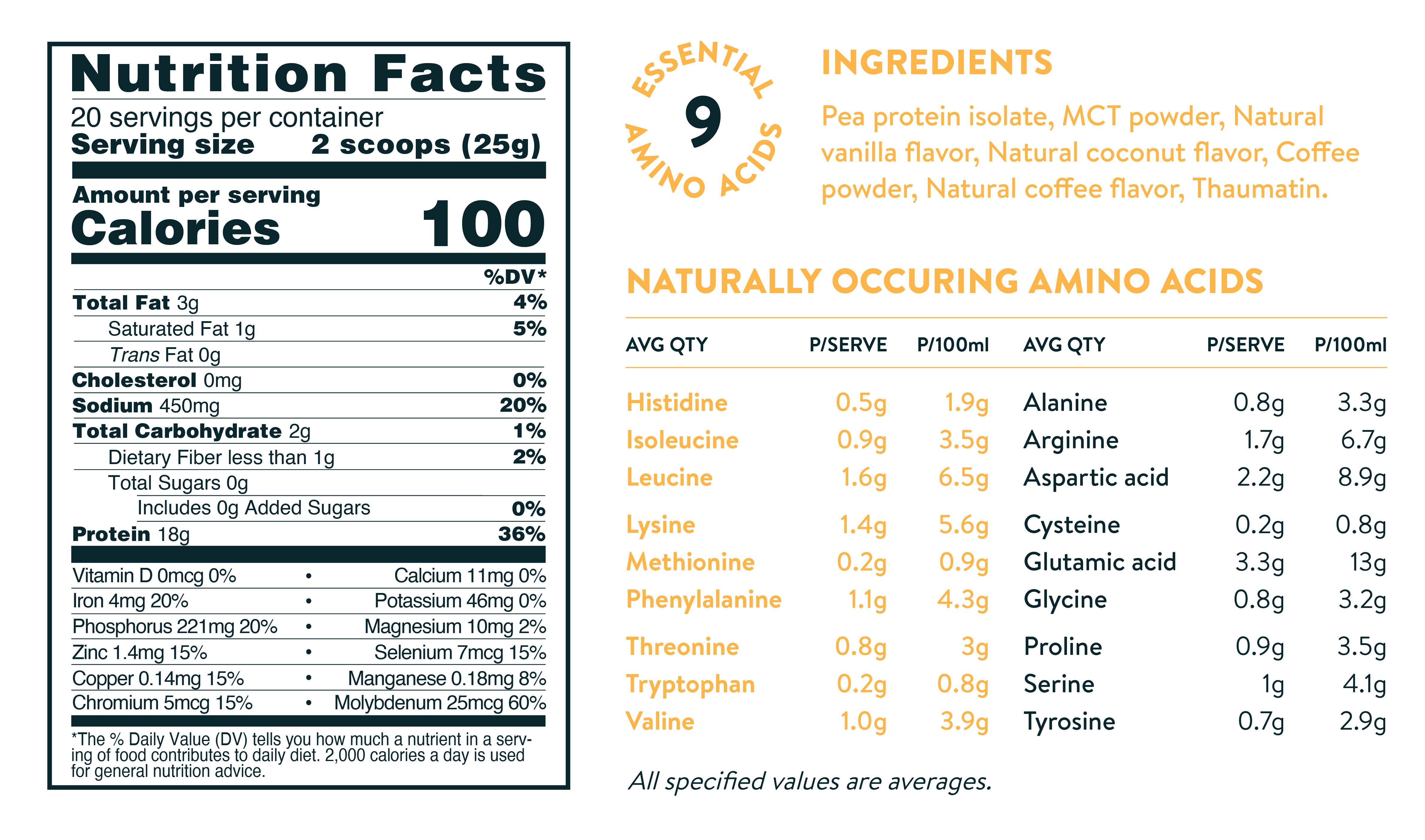clean protein powder