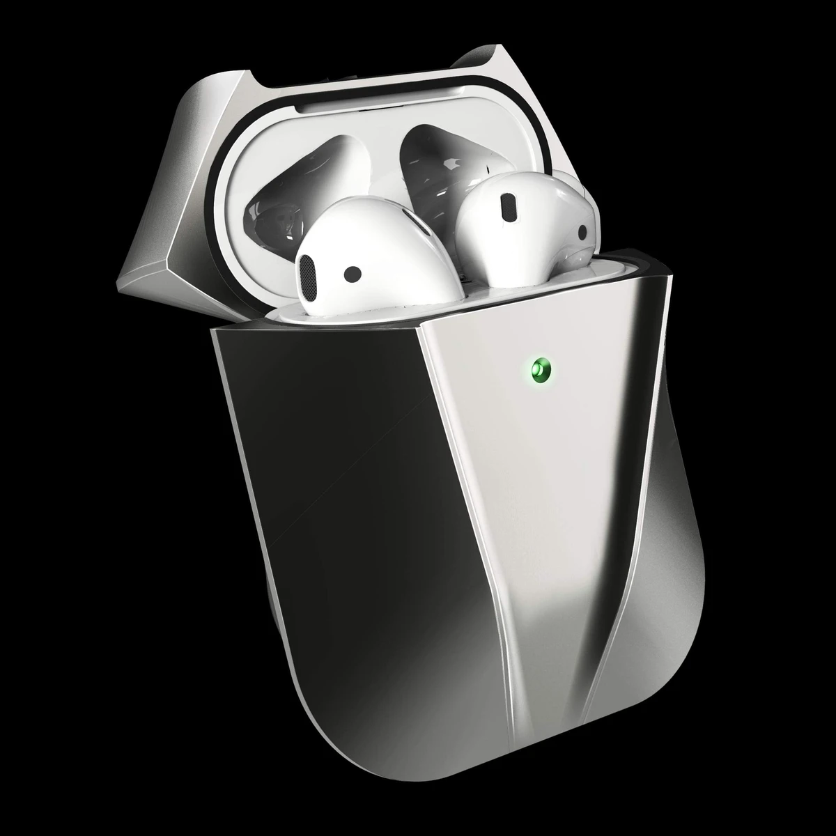 viper aluminium space gray AirPods case