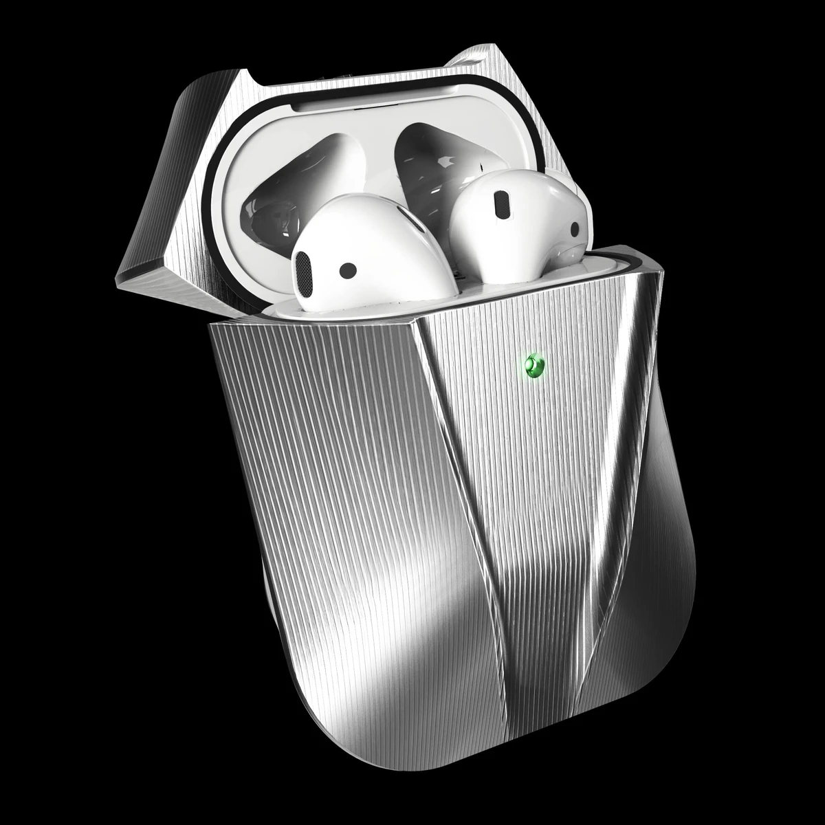 viper titanium metal AirPods case