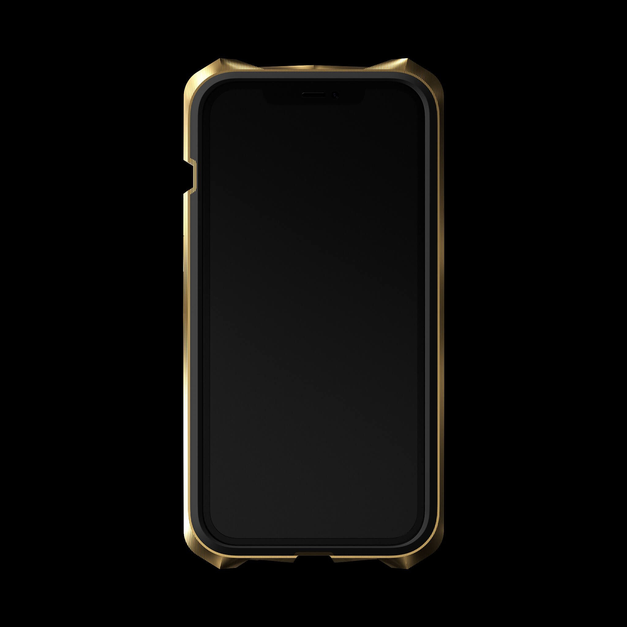 advent gold pvd coated luxury titanium iphone 12 pro case