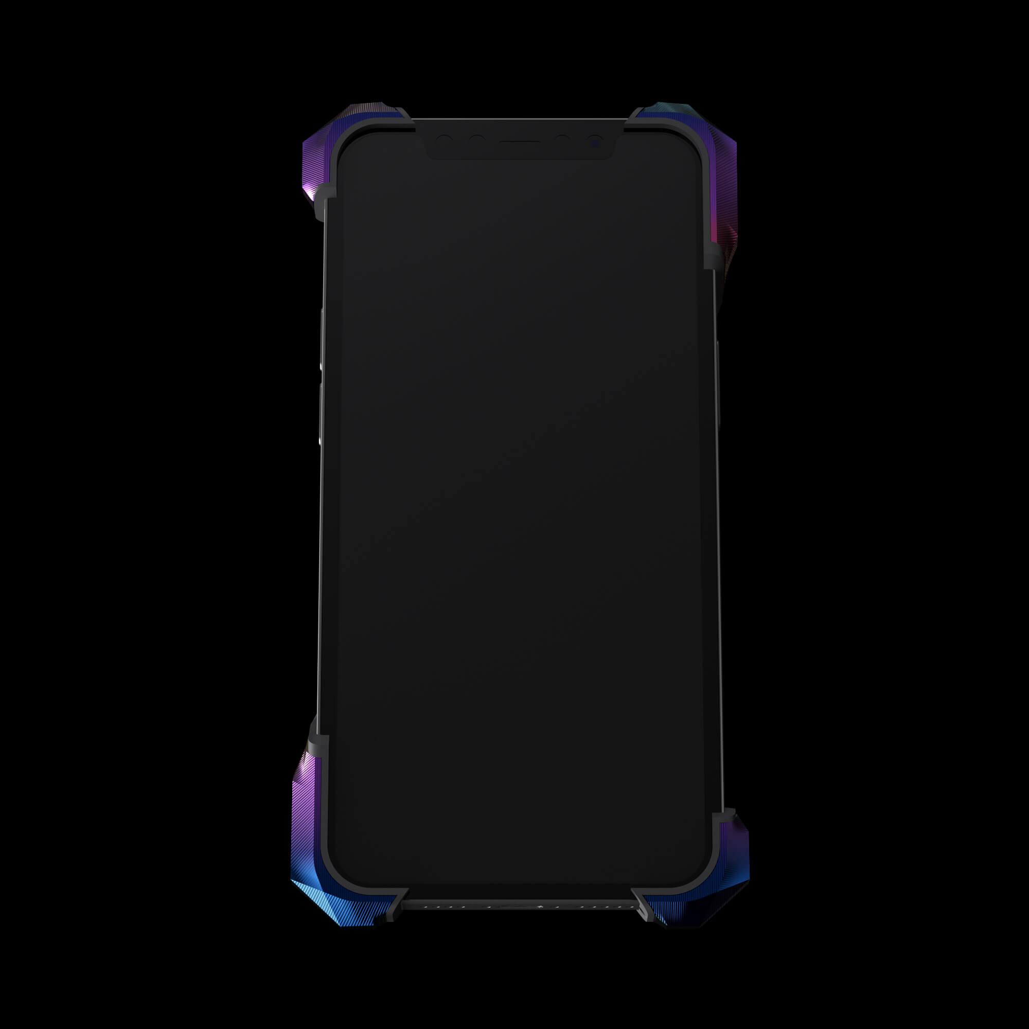 alter ego aurora titanium metal designer iPhone 12 pro case