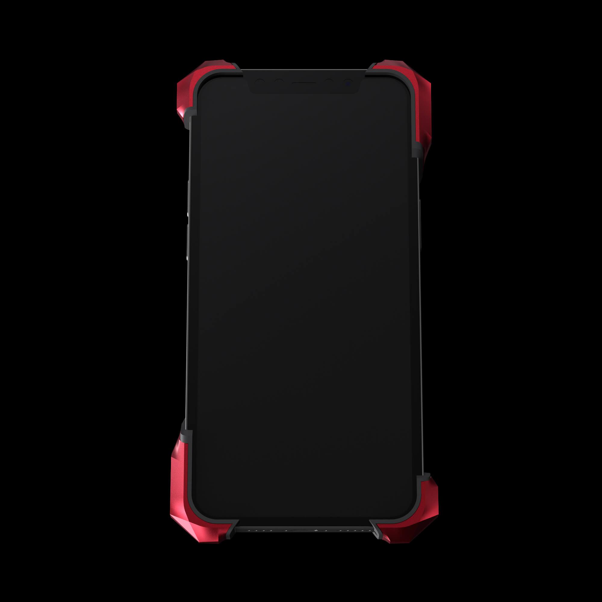 alter ego pulsar red aluminium metal luxury iPhone 12 pro case