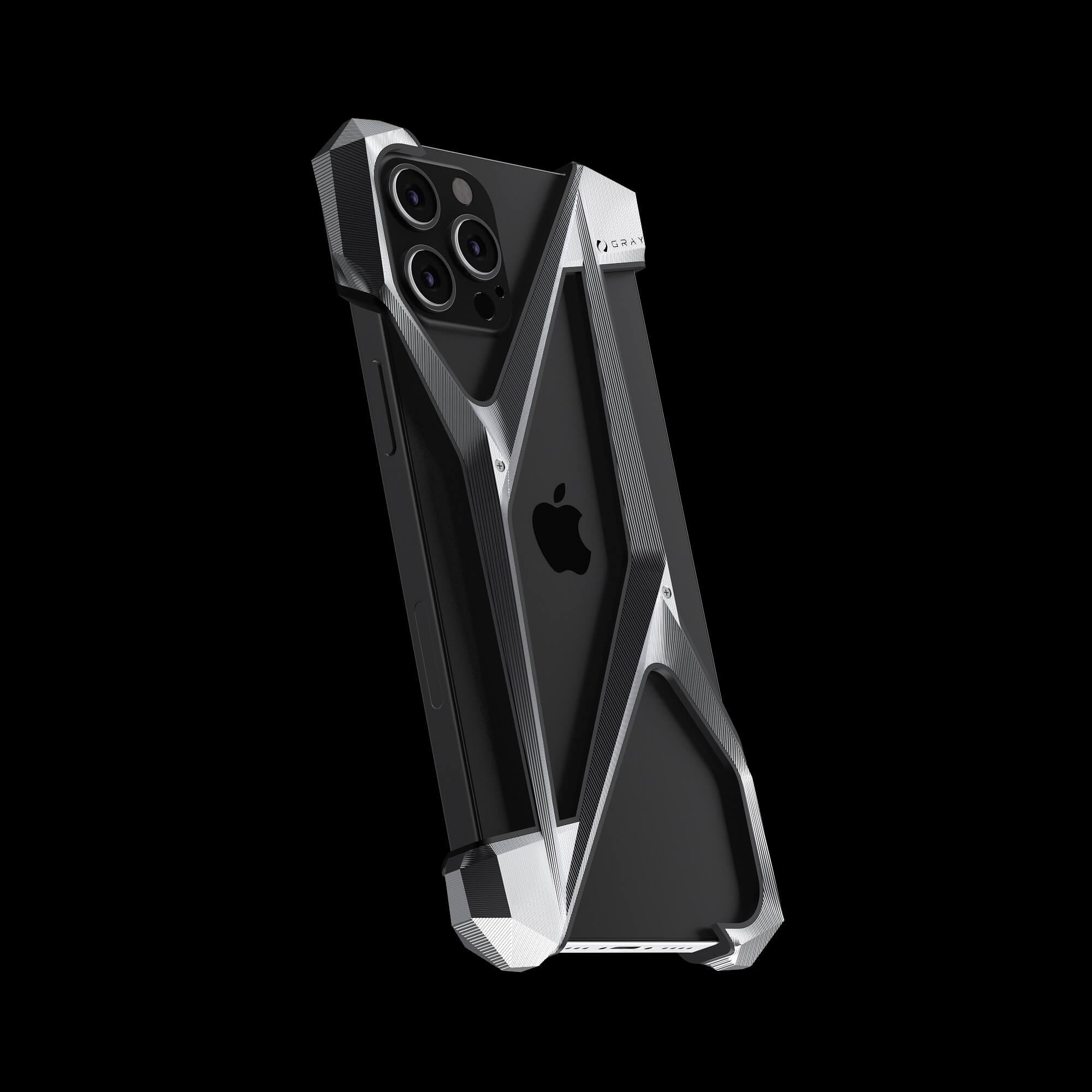 alter ego titanium metal designer iPhone 12 pro case