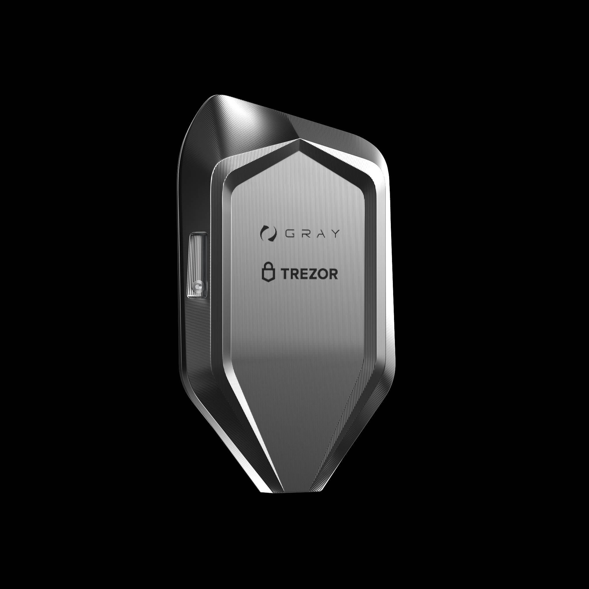 corazon titanium trezor bitcoin crypto hardware wallet