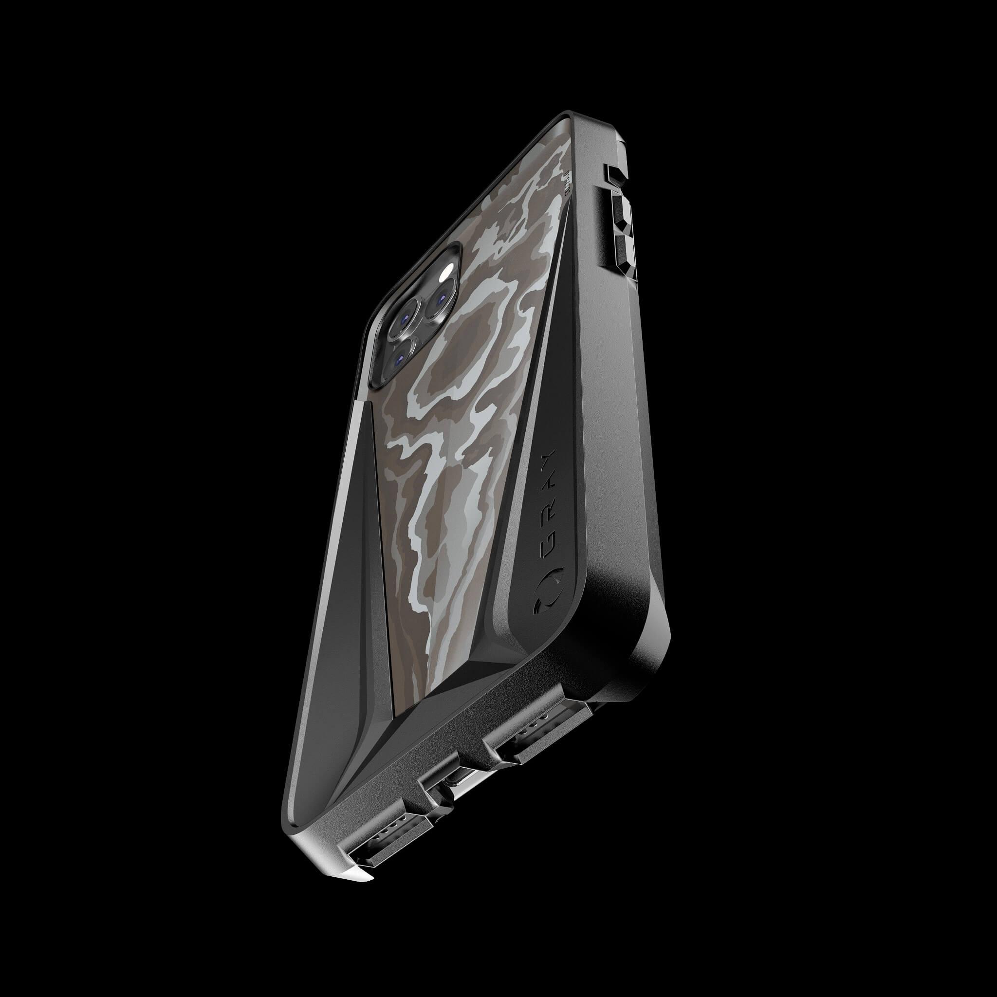 morpheus carbodyne carbon fibre luxury iPhone 12 pro case