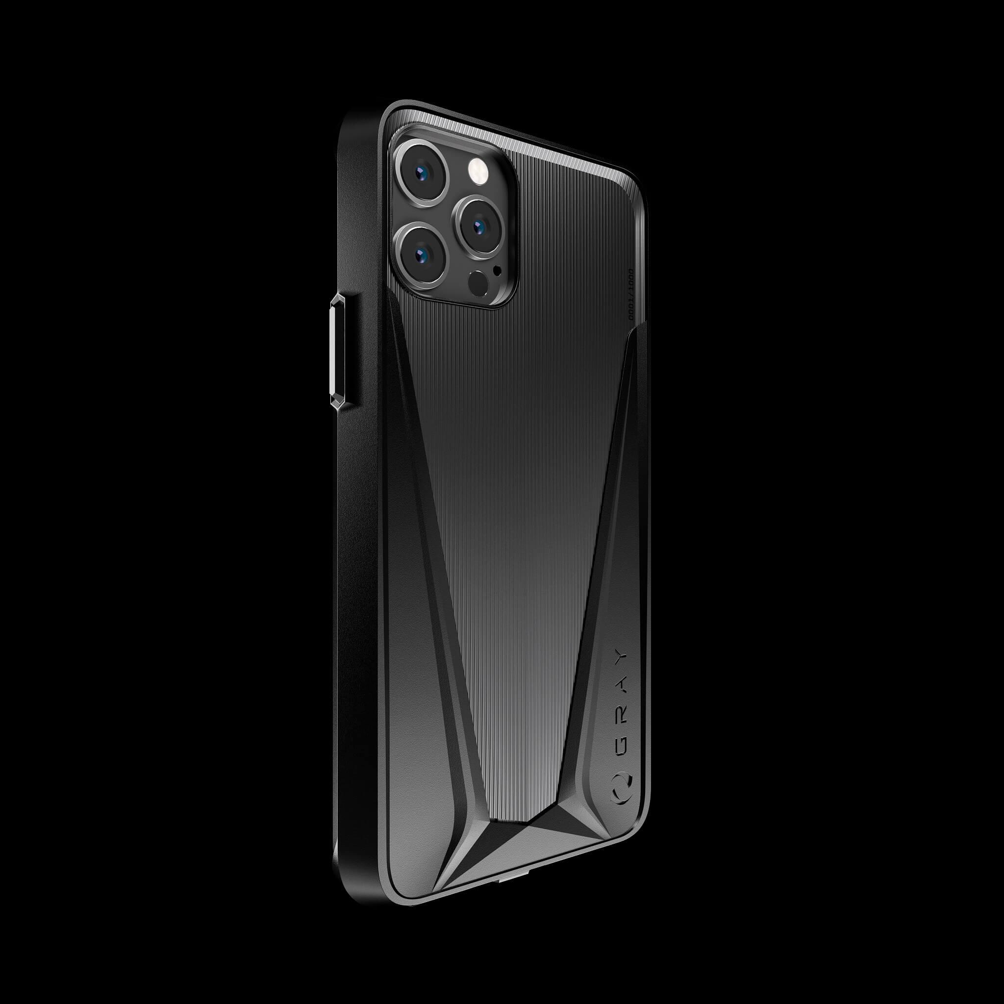 morpheus stealth black pvd titanium iPhone 12 pro case