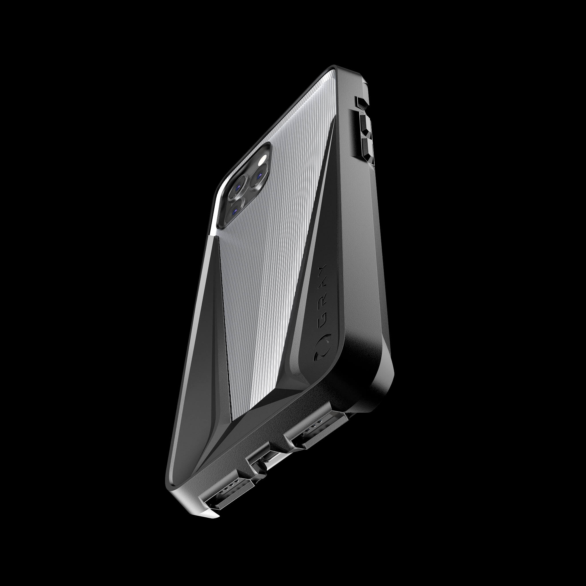 morpheus titanium metal luxury iPhone 12 pro case