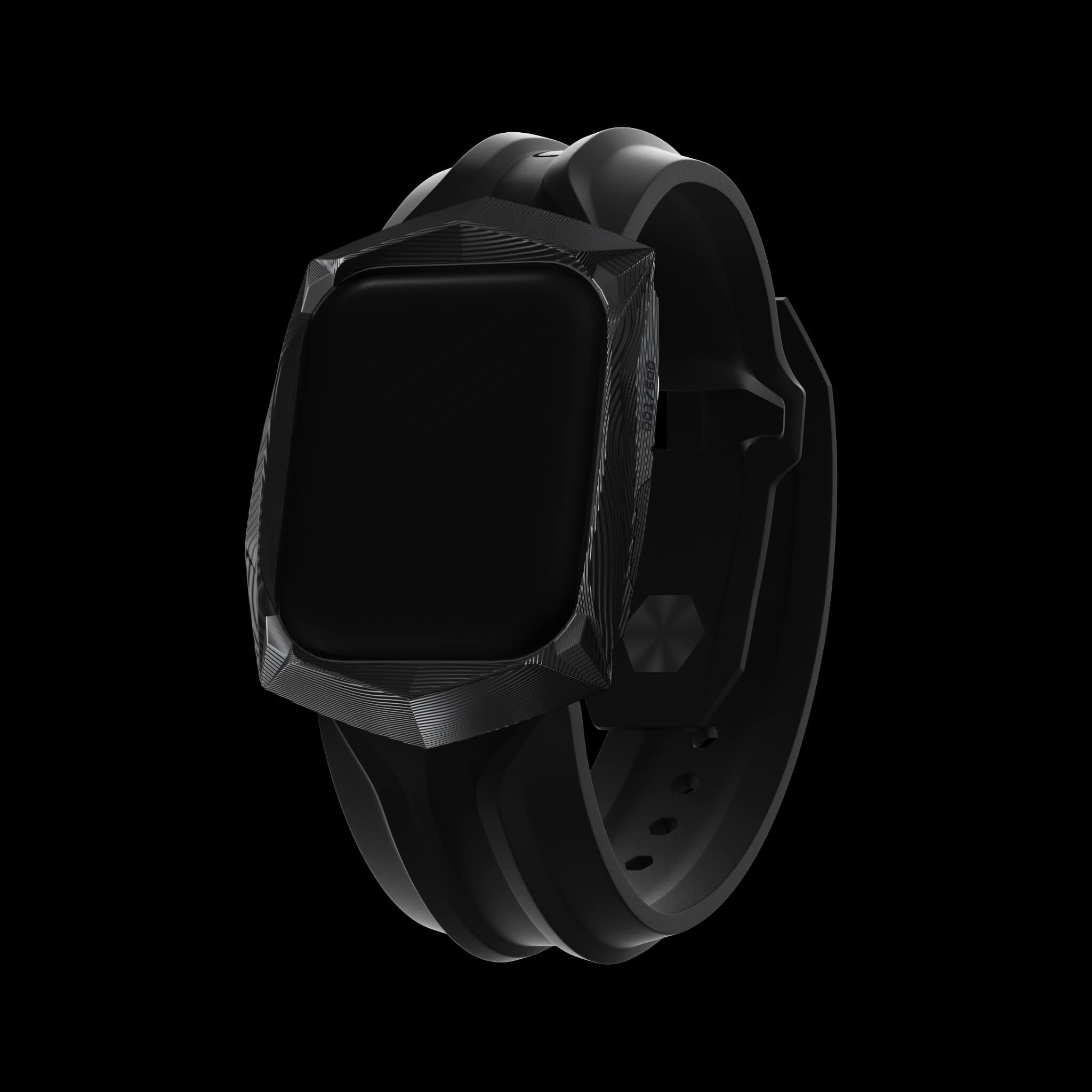 BLACK CARBODYNE watch case