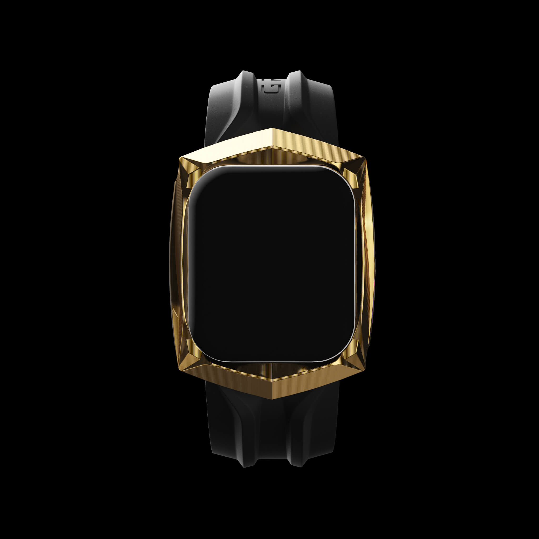 reskar gold pvd titanium apple watch case