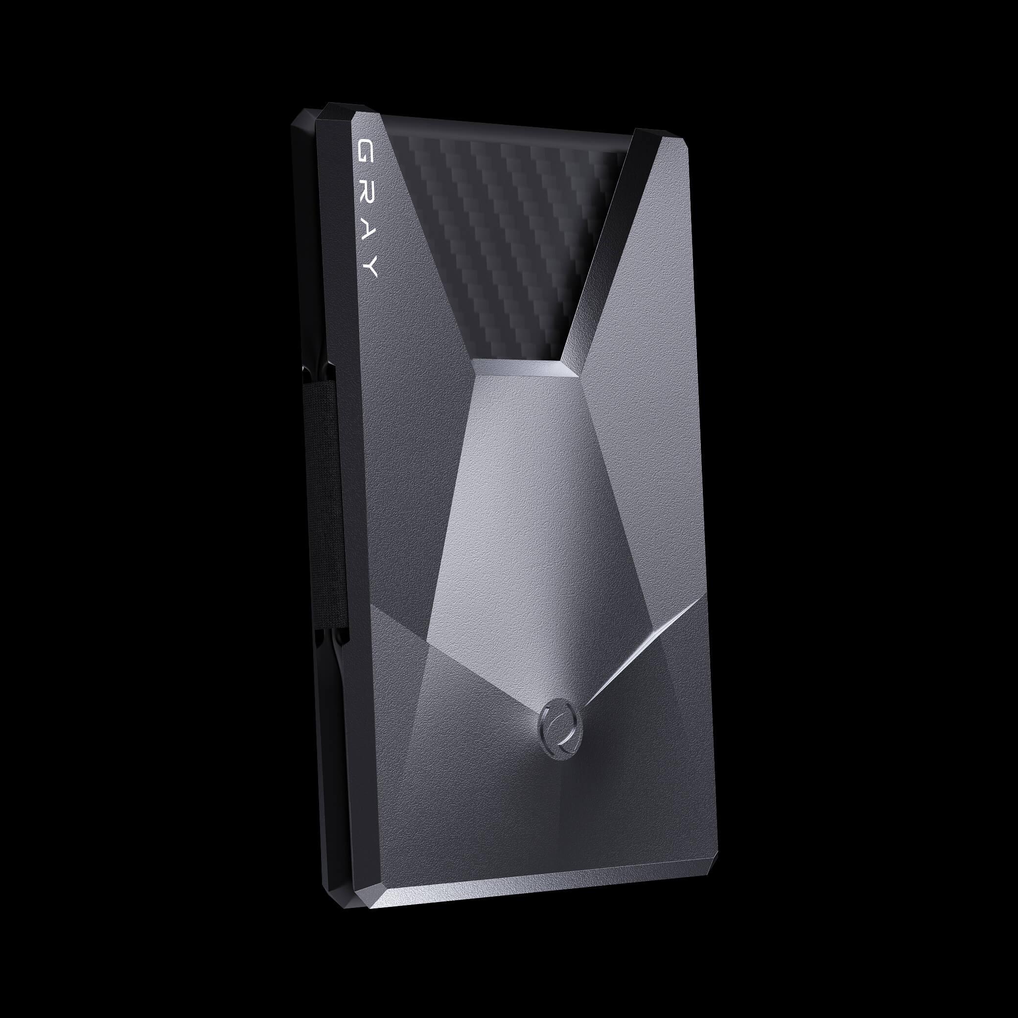 vandium space gray luxury designer aluminium metal card wallet