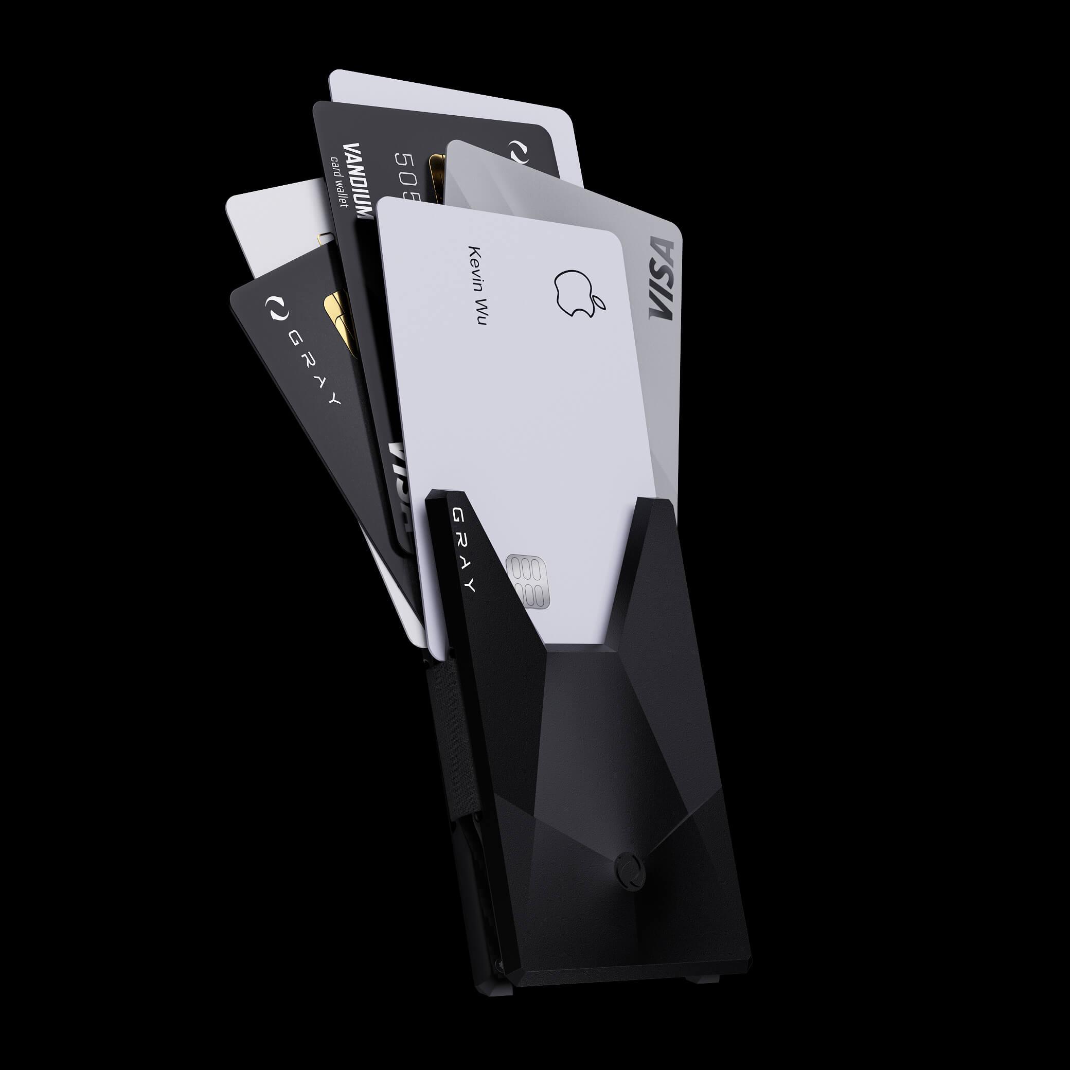 vandium stealth luxury designer aluminium metal card wallet